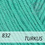 Baby Wool 832 turkus