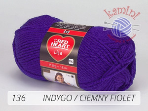 Lisa 136 indygo / ciemny fiolet