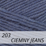 Cotton Gold 203 ciemny jeans