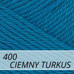 Catania 400 ciemny turkus