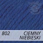 Baby Wool XL 802 ciemny niebieski