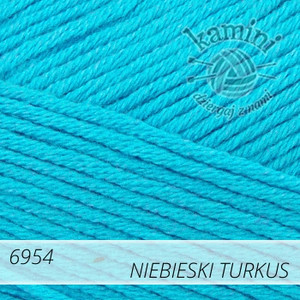 Estiva 6954 niebieski turkus
