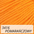 Baby Cotton 3416 pomarańczowy