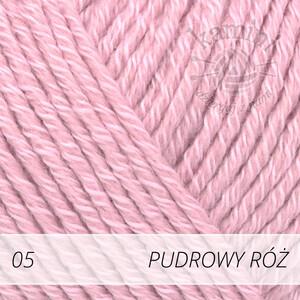 Cotton Merino 05 pudrowy róż