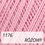 Mercerized Mini Crochet 1176 różowy