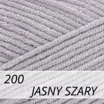 Cotton Gold 200 jasny szary