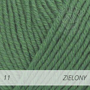 Cotton Merino 11 zielony
