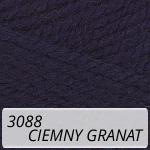 Nakolen 3088 ciemny granat