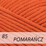 Jeans Plus 85 pomarańczowy