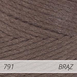 Macrame Cotton 791 brąz
