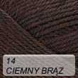 Supreme Cotton 14 ciemny brąz