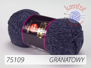 Everyday New Tweed 75109 granatowy