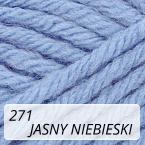 Sport Wool 271 jasny niebieski