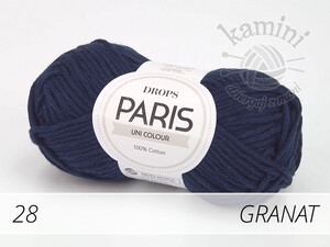 Paris 28 granat