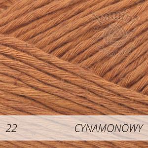 Soft Linen Mix 22 cynamonowy