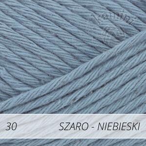 Paris 30 szaro - niebieski