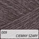 Merino Gold 009 ciemny szary