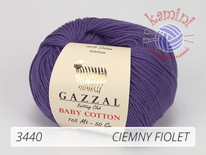 Baby Cotton 3440 ciemny fiolet