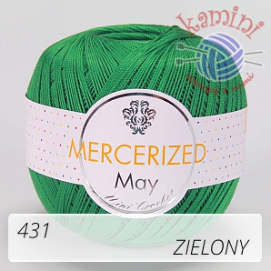 Mercerized 431 zielony