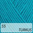 Jeans 55 turkus