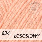Baby Wool 834 łososiowy