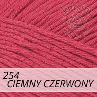 Bella 254 ciemny czerwony