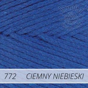 Macrame Cotton 772 ciemny niebieski