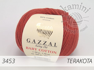 Baby Cotton 3453 terakota