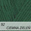 Jeans 92 ciemny zielony
