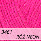 Baby Cotton 3461 róż neon