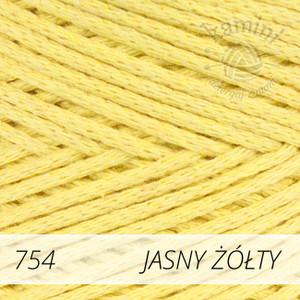 Macrame Cotton 754 jasny żółty