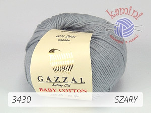 Baby Cotton 3430 szary