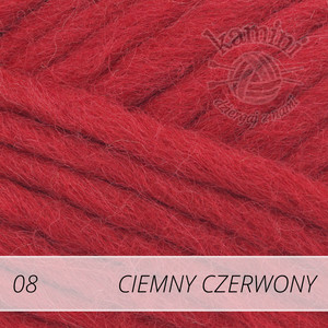 Eskimo / Snow 08 ciemny czerwony