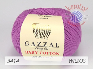 Baby Cotton 3414 wrzos