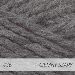Alpine Alpaca 436 ciemny szary