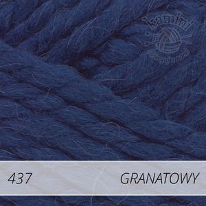 Alpine Alpaca 437 granatowy