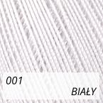 Mercerized Mini Crochet 001 biały