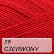 Cotton Soft 26 czerwony