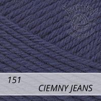 Universa 151 ciemny jeans