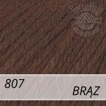 Baby Wool XL 807 brąz