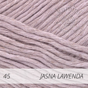Soft Linen Mix 45 jasna lawenda