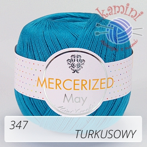 Mercerized 347 turkusowy