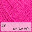 Jeans 59 neon róż