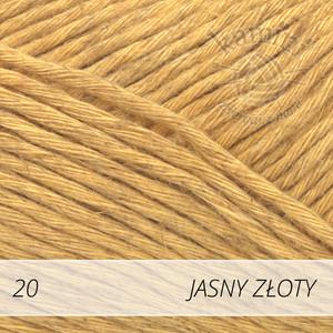 Soft Linen Mix 20 jasny złoty