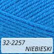 Kotek 32-2257 niebieski