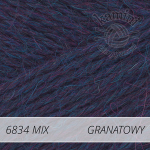 Alpaca Mix 6834 granatowy