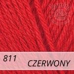 Baby Wool 811 czerwony