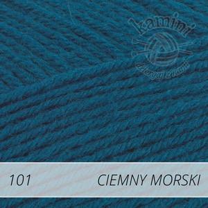 Merino Gold 101 ciemny morski