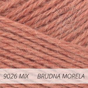 Alpaca Mix 9026 brudna morela
