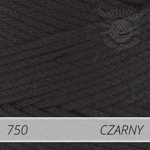 Macrame Cotton 750 czarny